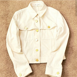 Celine Ivory Denim Jacket