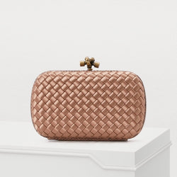 Bottega Veneta Basket Weave Clutch
