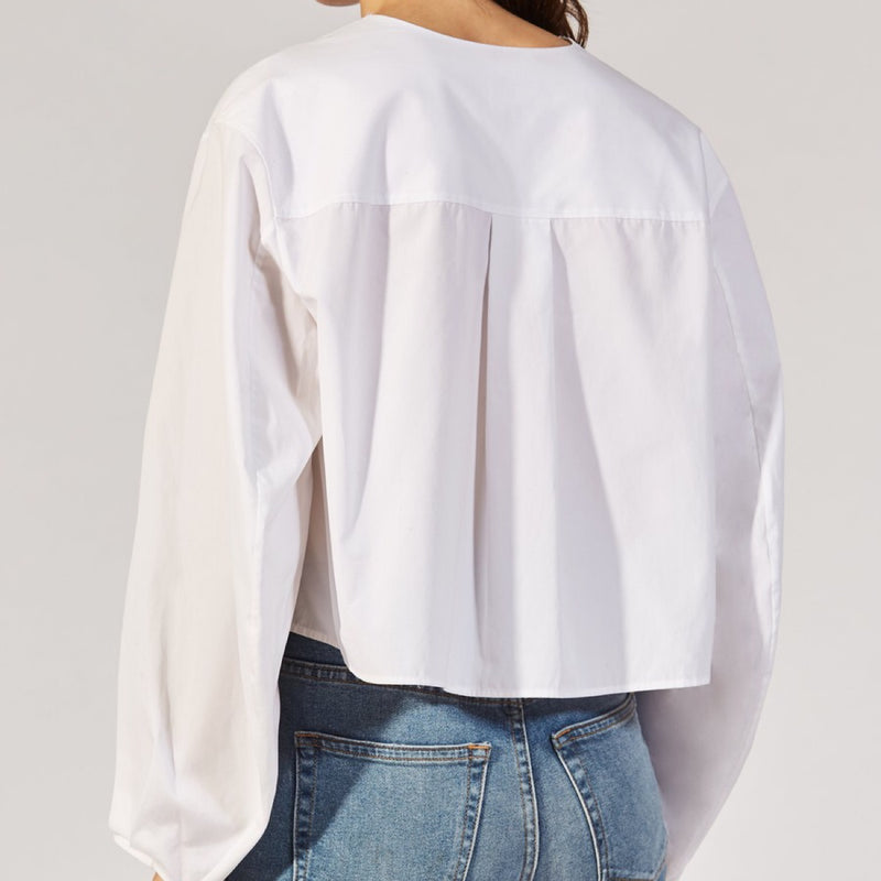 Khaite The Dorothy Top in White