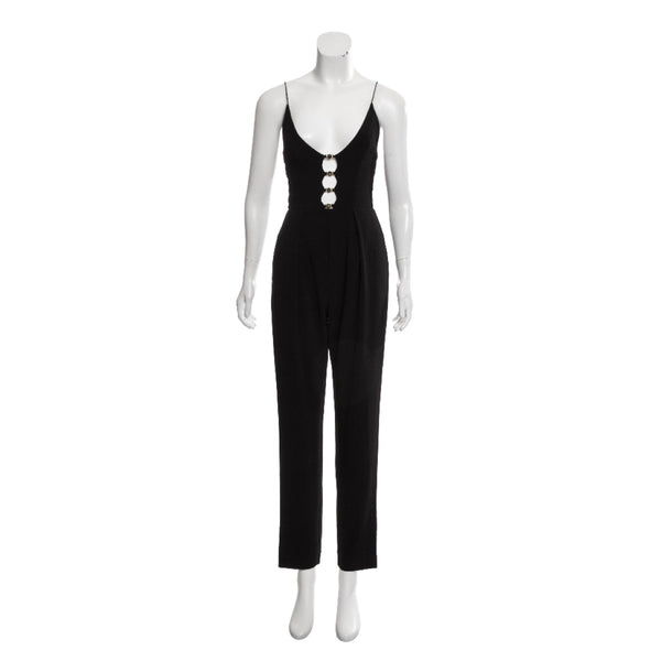 Zimmermann Deep V Jumpsuit