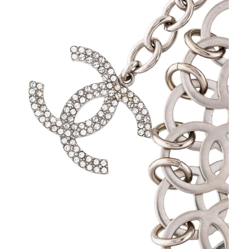 Chanel Strass CC In The Air Choker