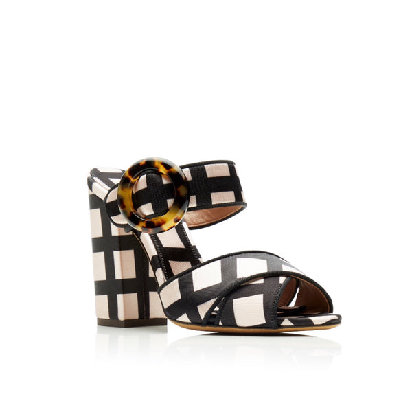 Tabitha Simmons Reyner Checked Neoprene Sandals
