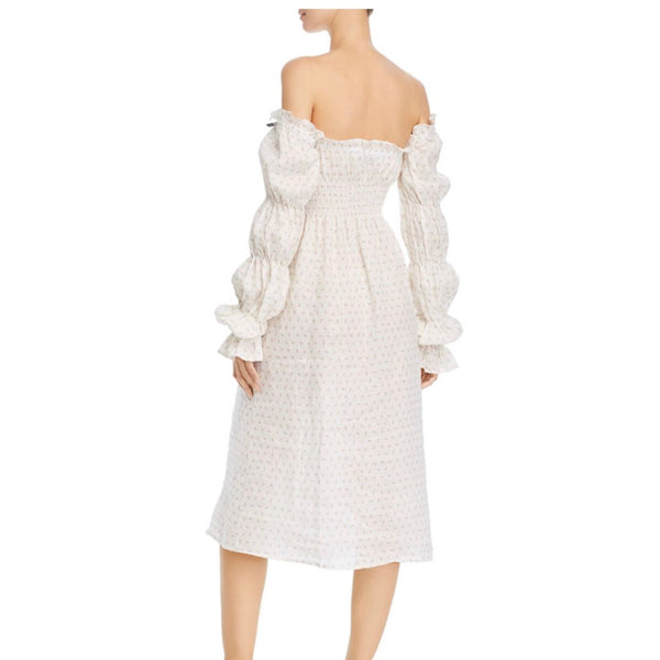 Sleeper Michelin Cold Shoulder Dress