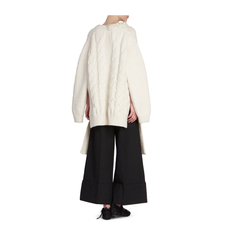 Simone Rocha Cable Knit Sweater