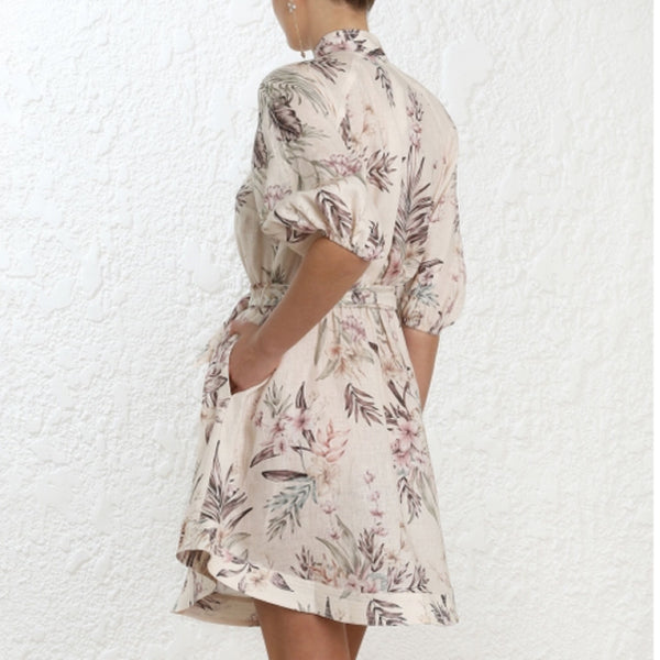 Zimmermann Wayfarer Short Shirt Dress