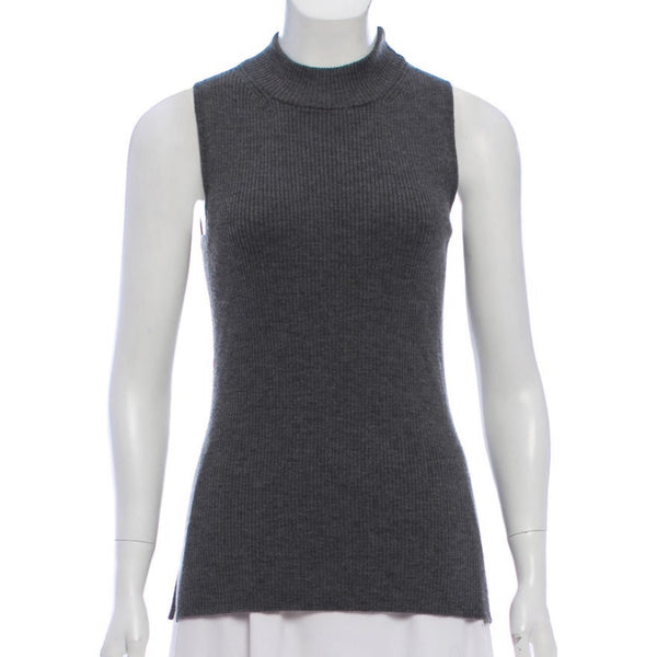 Rag & Bone Sleeveless Mock Neck Sweater