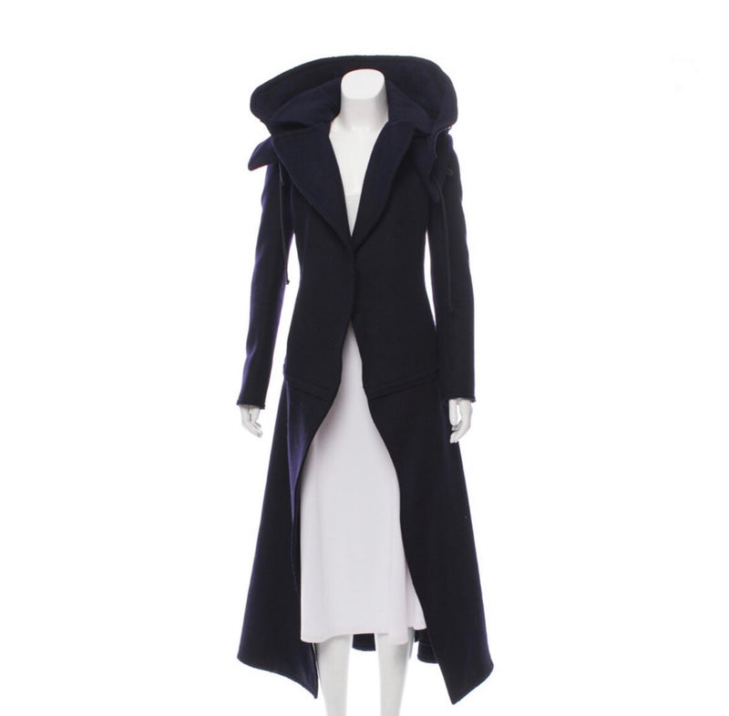 Celine Long Wool Coat