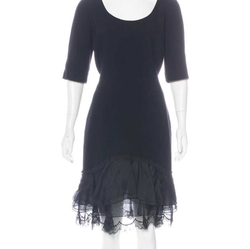 Saint Laurent Little Black Evening Dress
