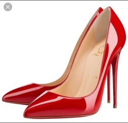 Christian Louboutin Red Pigalle Pump