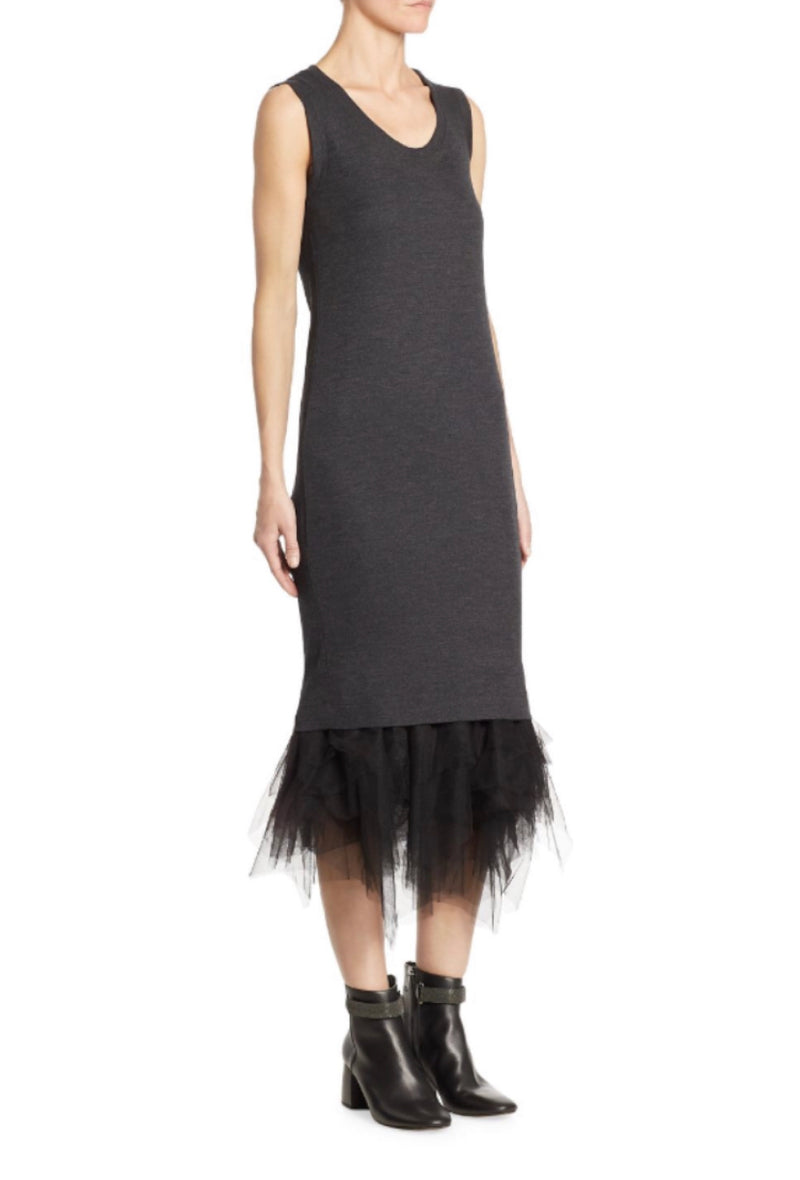 Brunello Cucinelli Wool Jersey Dress