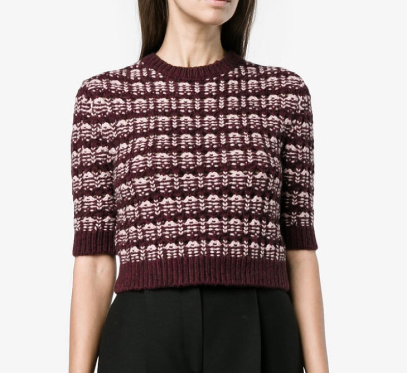 Valentino Cropped Sweater
