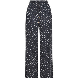 Zimmerman Printed Crepe Wide-Leg Pants