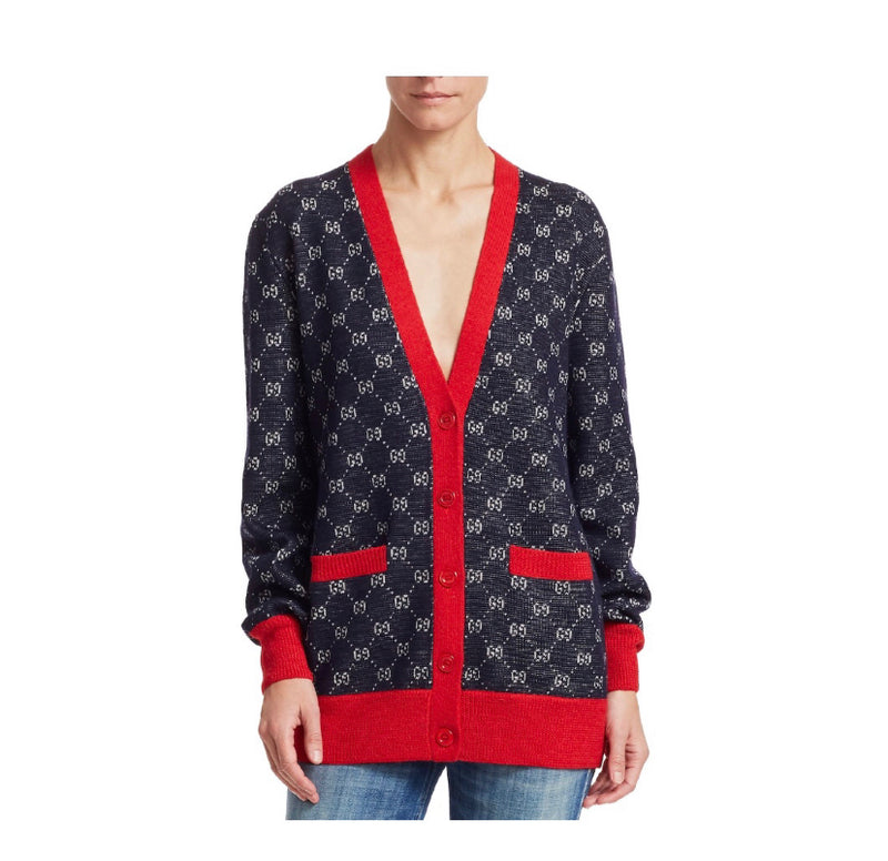 Gucci V-neck Cardigan