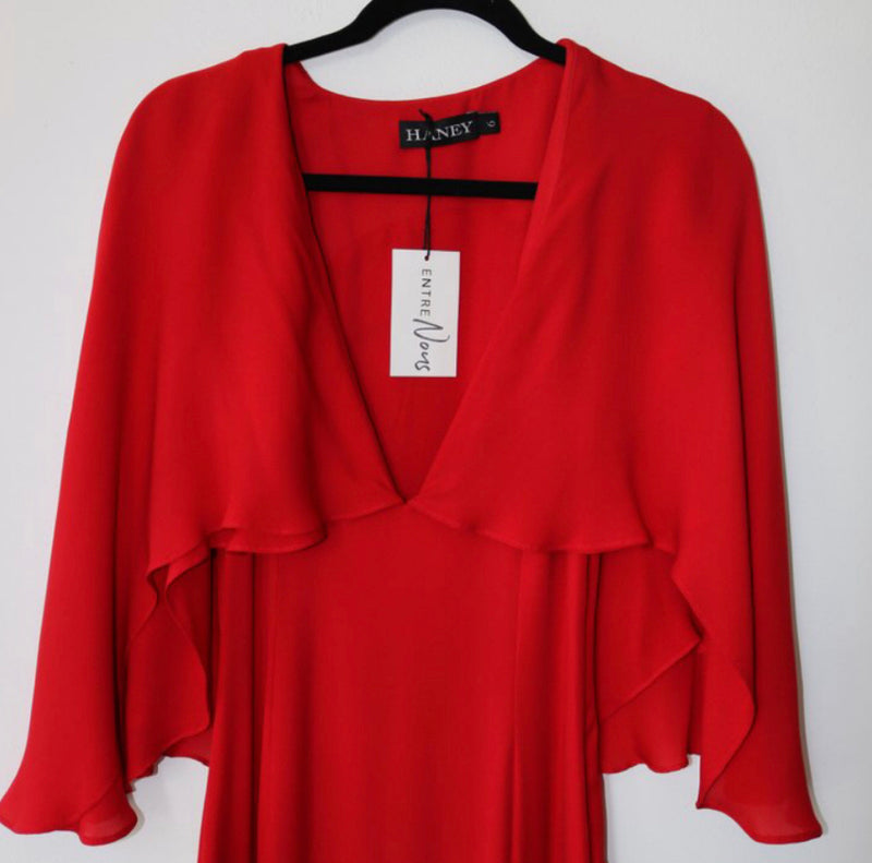 Haney Cape Dress