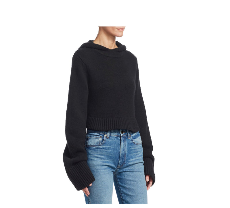 Khaite Josephine Cashmere Hooded Sweater