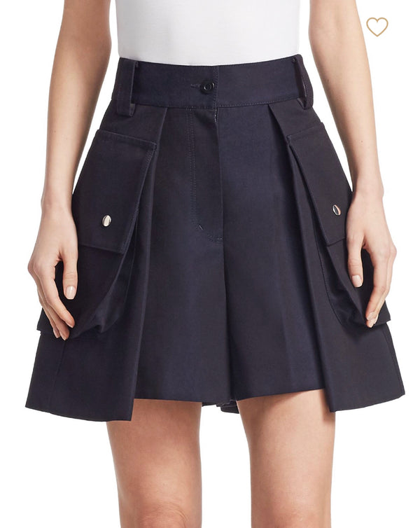 Sacai Cotton Twill Shorts