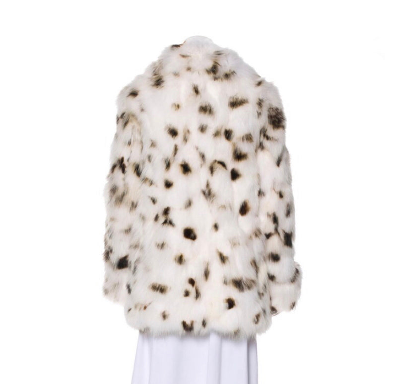 Saint Laurent Fox Fur Jacket