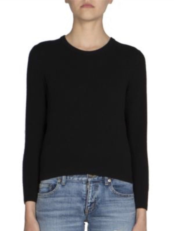 Saint Laurent Lace Back Sweater