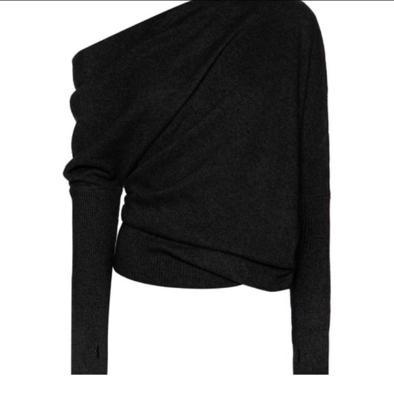Tom Ford Off The Shoulder Cashmere Sweater