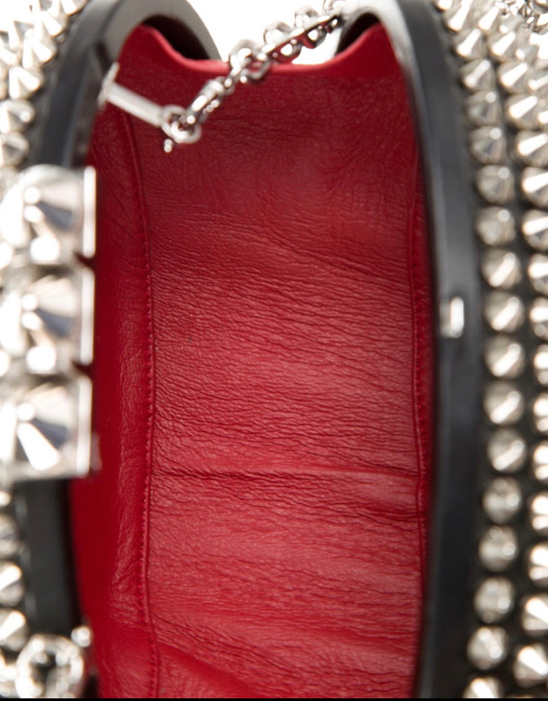 Christian Louboutin Mina Spiked Clutch