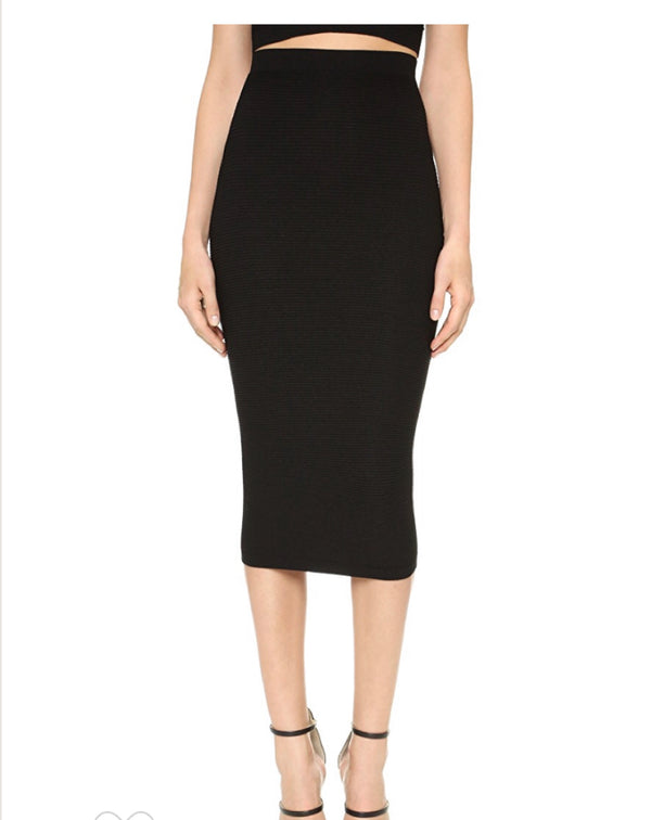 Cushnie et Ochs Pencil Skirt With Graduated Texture