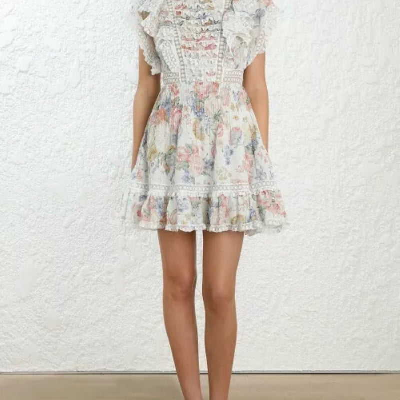 Zimmermann Bowie Mini Dress