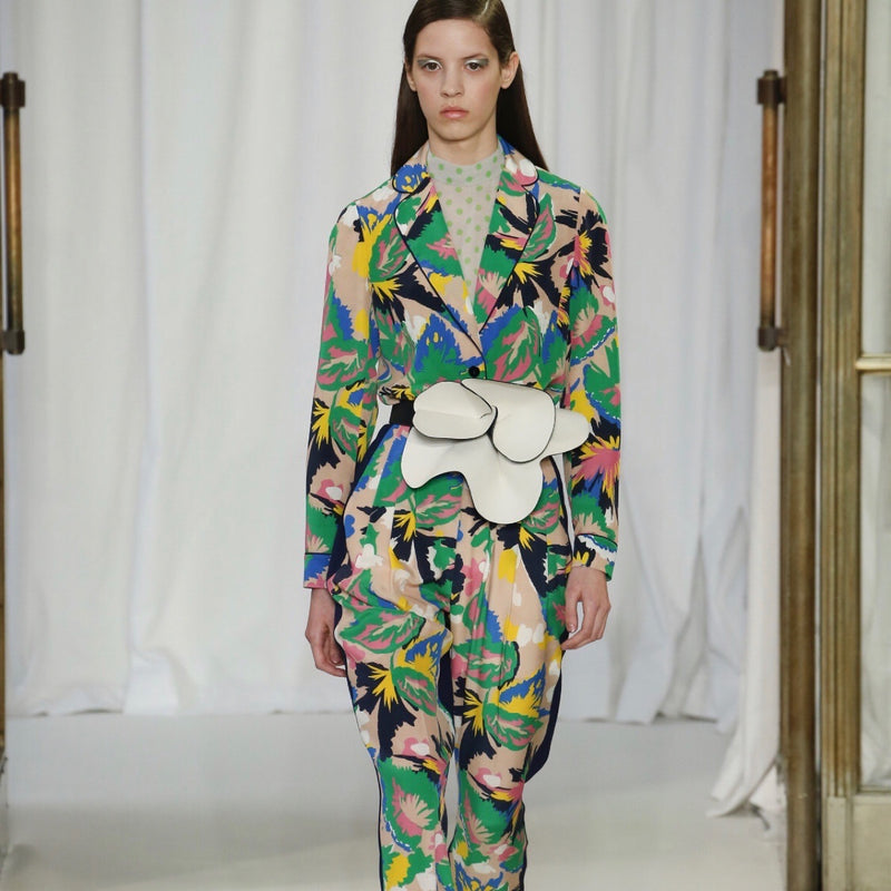 Delpozo Flower Belt