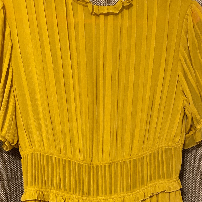 Ulla Johnson Yellow Chiffon Dress