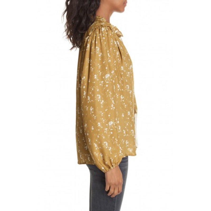 Dolan Alice Split Neck Blouse