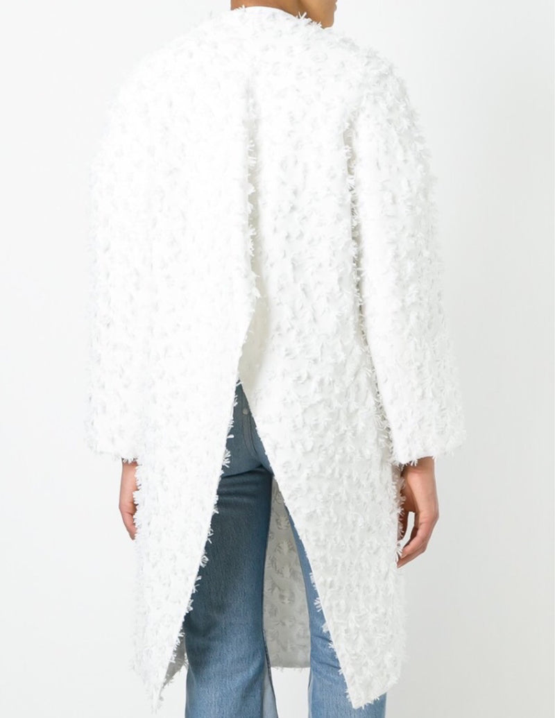 Maticevski Oversized Lapel Textured Coat