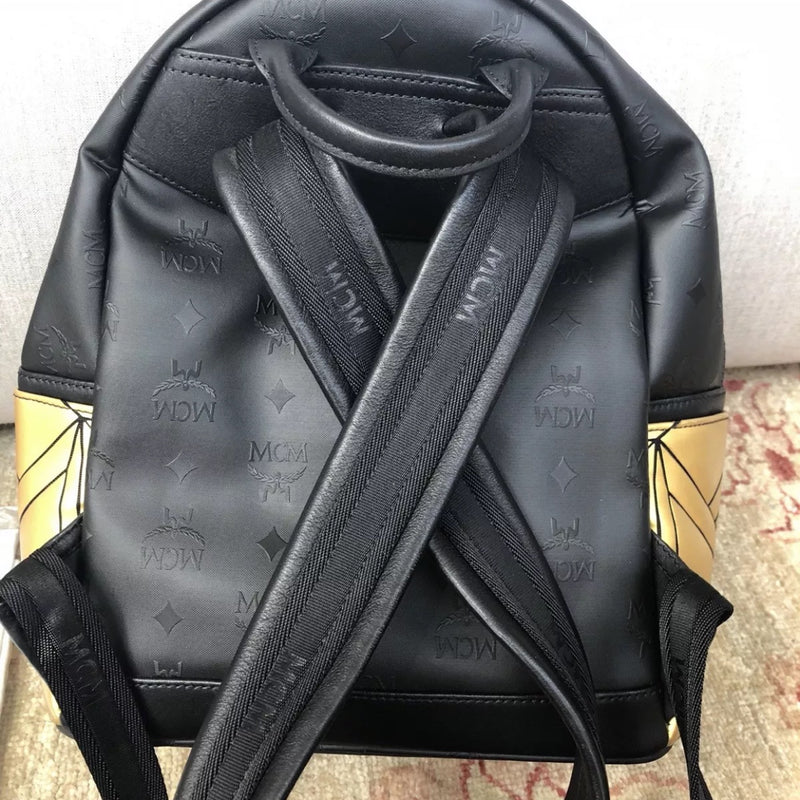 MCM Gold Bionic Backpack