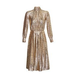 Céline Metallic Gold Jumpsuit