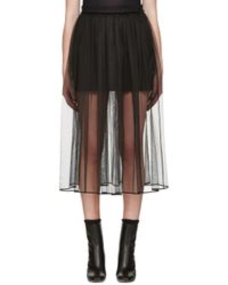 Givenchy Sheer Tulle Skirt
