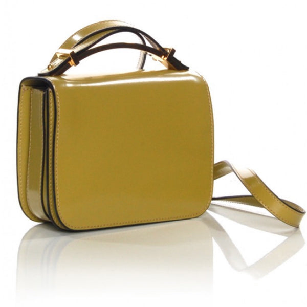 Marni Sculpture Bag in Shiny Calfskin