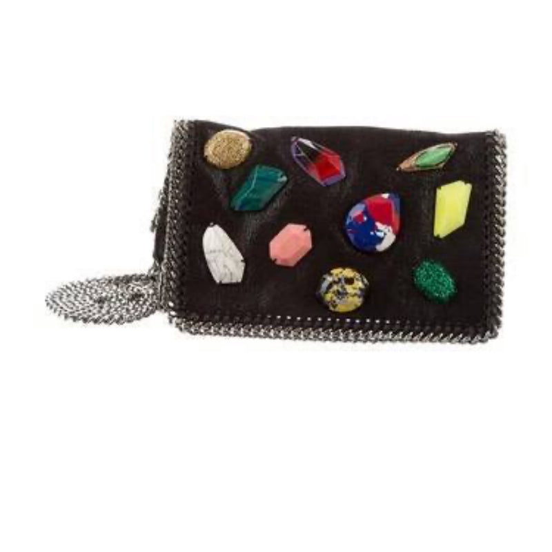 Stella McCartney Falabella Crossbody Bag with Gemstones