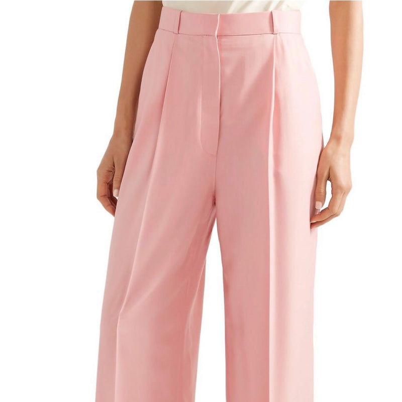 The Row Elin Wool-Twill Wide-Leg Pants