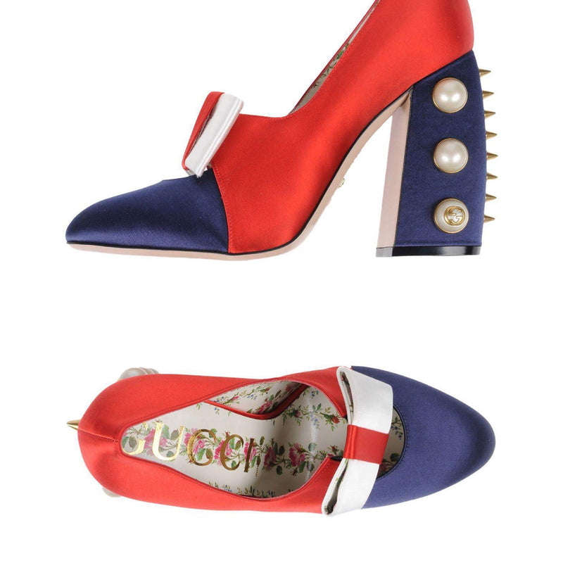 Gucci Special Edition Luna Colorblock Pumps