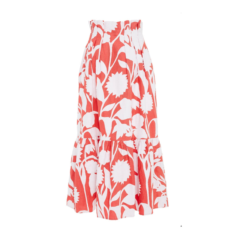 Mara Hoffman Roaming High Waited Midi Skirt