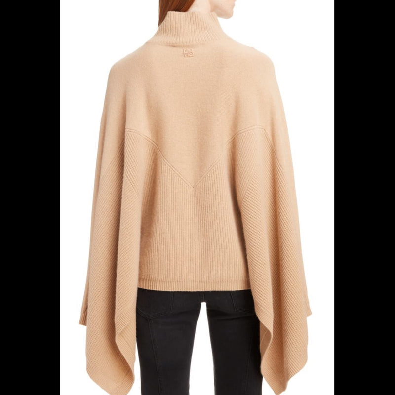 Givenchy Cashmere Poncho Sweater