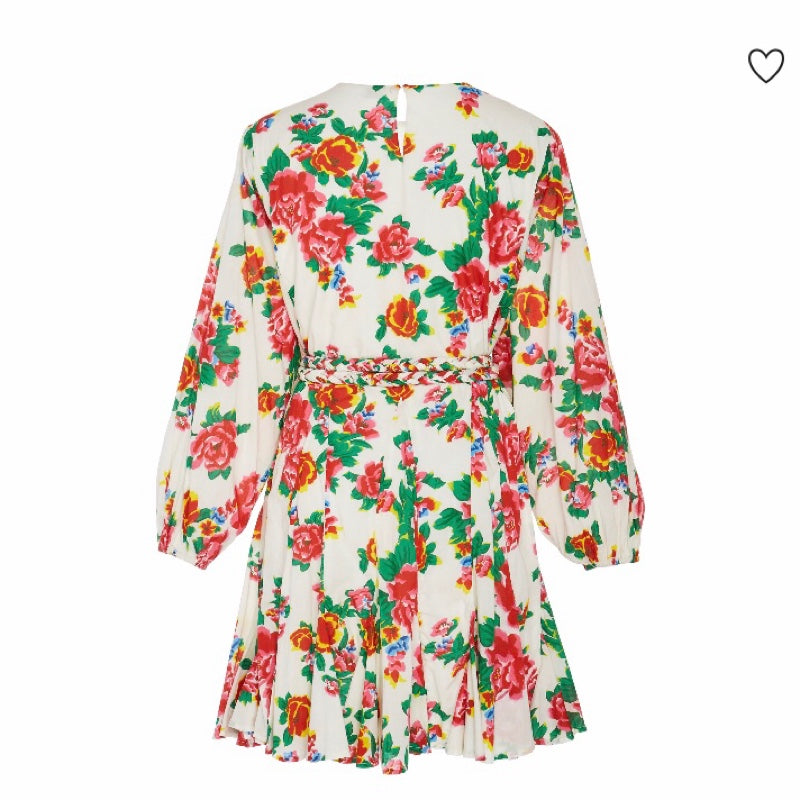 Rhode Resort Ella Floral Print Mini Dress