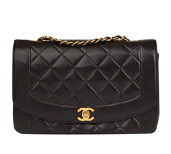 Chanel Diana Leather Handbag