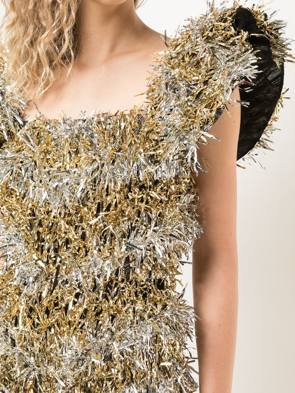 Dolce & Gabbana Tinsel Mini Dress