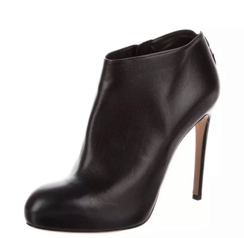 Salvatore Ferragamo Leather Ankle Booties