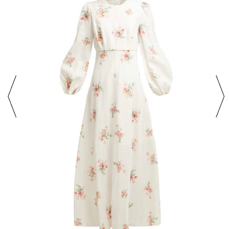 Zimmermann Heathers Linen Dress
