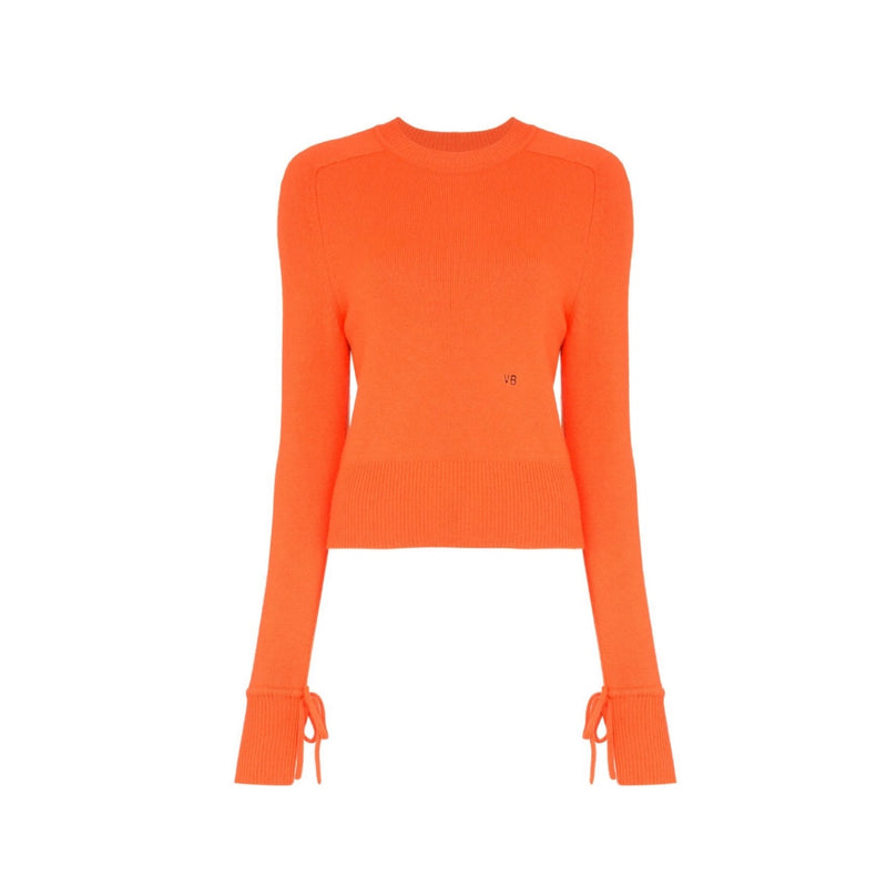 Victoria Beckham Cropped Cashmere Sweater