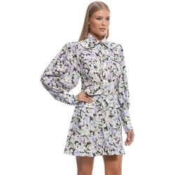 Zimmermann Paisley Belted Mini Dress