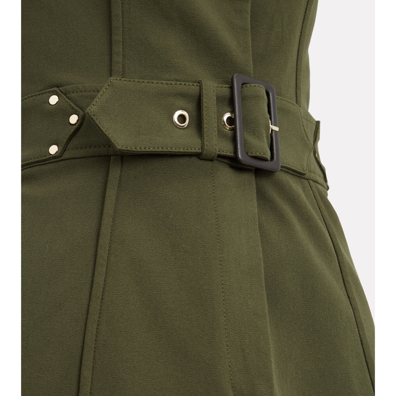 Derek Lam 10 Crosby Army Belted Trench Dress