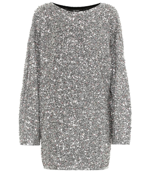 Isabel Marant Xana Sequin Mini Dress