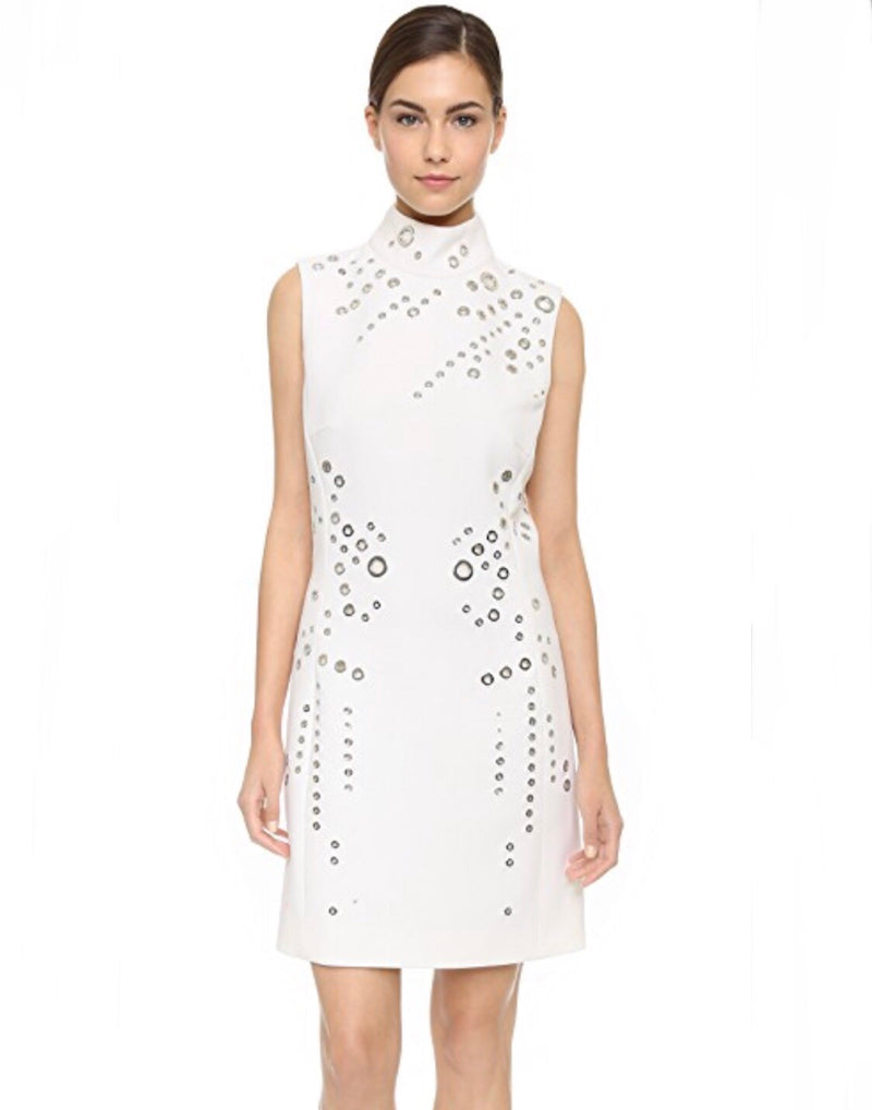 Mugler Grommet Mini Dress