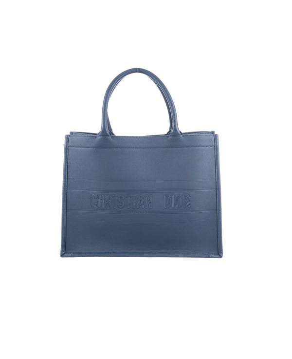 Christian Dior Leather Book Tote